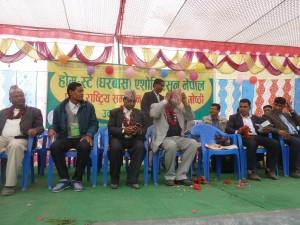 लुम्विनी विकासकोषमा पर्ने ३ जिल्लामा ठुला होटल नभई होमस्टे स्थापना गरीने:मन्त्रि आनन्द पोख्रेल